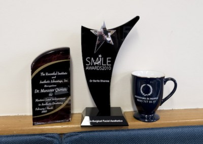 Essex Cosmetic Dentists awards